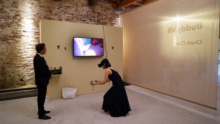 국산 VR 애니메이션 버디VR이 베니스 국제영화제에서 상영 되고 있다.