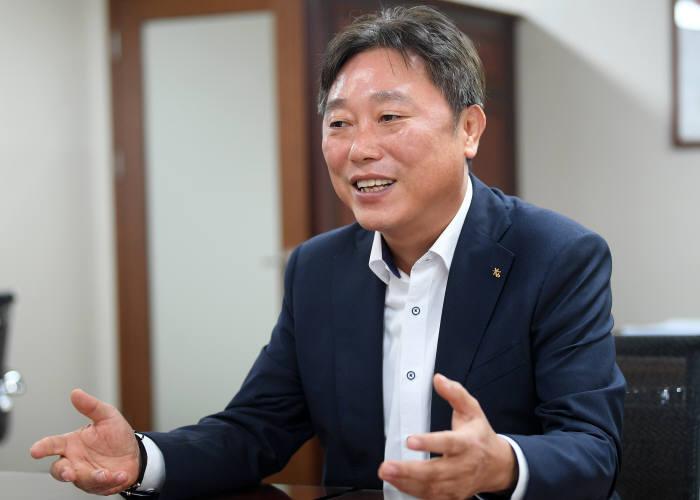 이우열 KB국민은행 IT그룹 대표 이동근기자 foto@etnews.com
