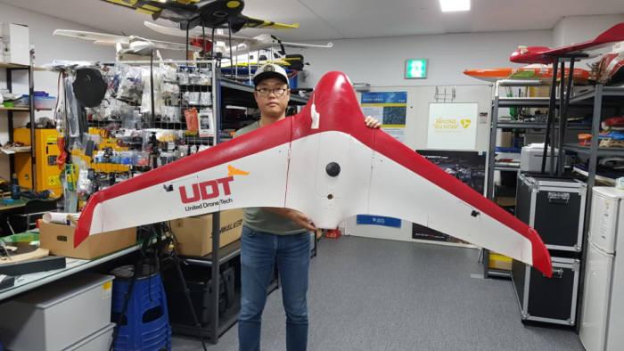 유나이티드드론테크, 2시간 반 동안 비행하는 항공측량 드론 개발