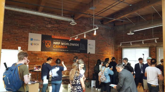 2018년 5월 캐나다에서 열렸던 NRP 데모데이.