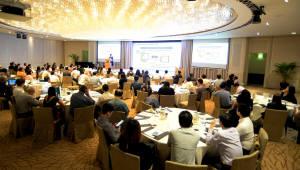 포시에스, 싱가포르 '핀테크 콘퍼런스' 성황