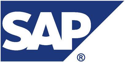 SAP 로고.