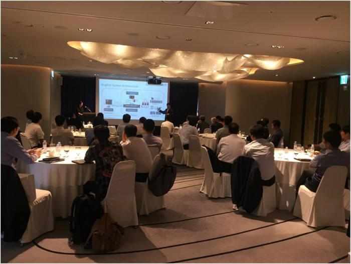 캐나다 물리보안 전문기업 아비질론이 4일 그랜드 앰버세더 서울 호텔에서 2018 아비질론 로드쇼를 개최했다.