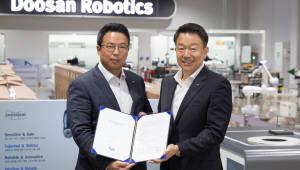 인아엠씨티, 두산로보틱스와 대리점 계약… 협동로봇 생산공정 적용