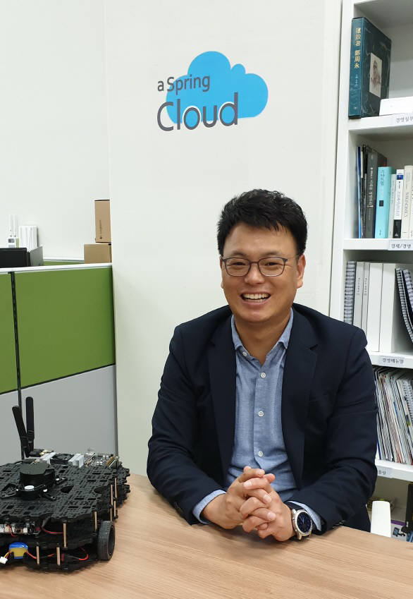 송영기 스프링클라우드 대표.