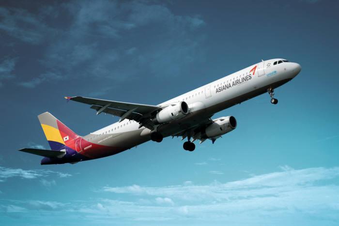아시아나항공 A321 항공기 (제공=아시아나항공)