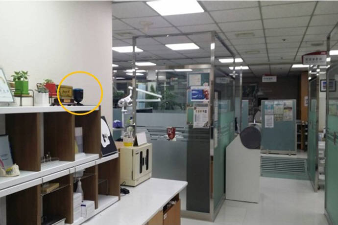 고려대 안암병원에 설치된 드웰링 공기정화솔루션