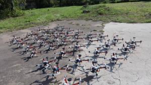 파블로에비에이션, 드론 40대 군집비행 기술 개발