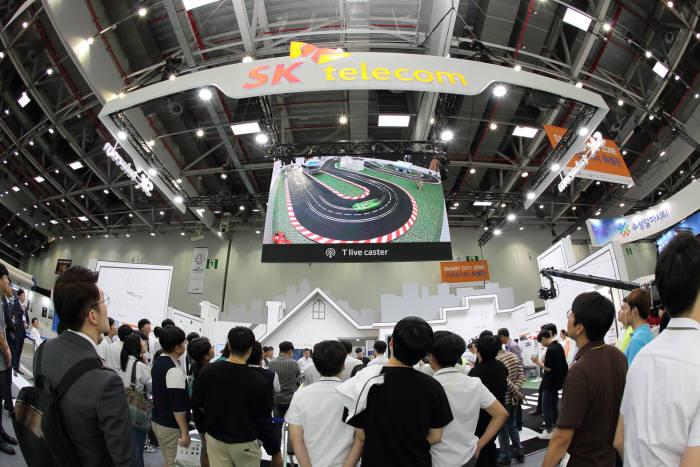 ICT융합엑스포 지난해 행사 모습.