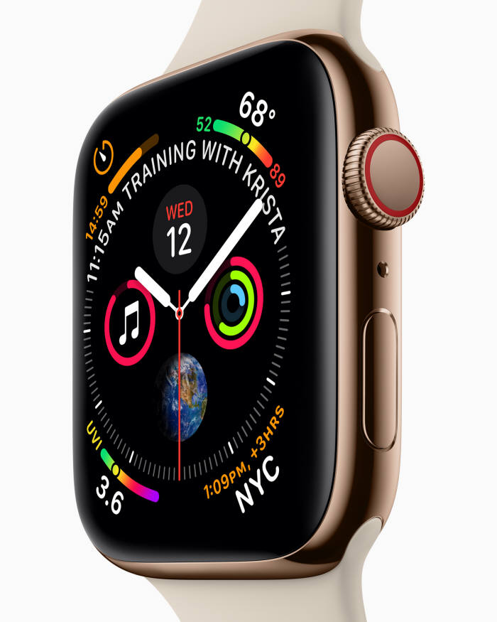 애플워치 시리즈 4.