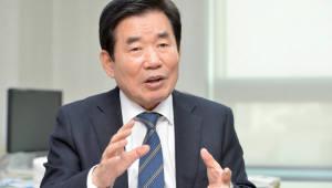 """[2018 이러닝코리아]김진표, """"에듀테크, 4차산업혁명 선도 사업으로 키워야"""""""
