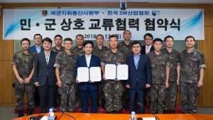 국군지휘통신사-SW산업협회, 군 장병 SW 역량 강화 지원 협력