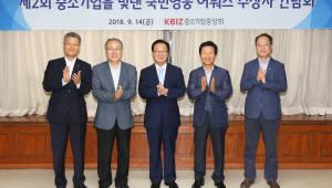 중기중앙회, '중소기업을 빛낸 국민영웅 어워즈 수상자' 간담회 개최