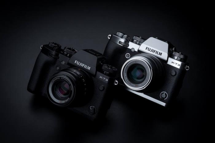 후지필름 일렉트로닉 이미징 코리아는 4세대 X 시리즈 첫 모델 X-T3를 출시했다고 14일 밝혔다.