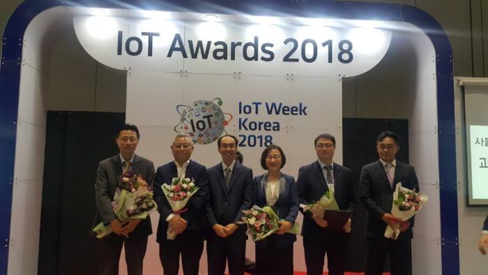 박현주 시옷 대표, IoT 산업 활성화 표창 수상