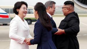 [평양정상회담]'역대 최초' 기록 쏟아진 정상회담 첫 날