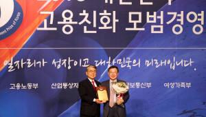 소상공인시장진흥공단, '2018 대한민국 고용친화 모범경영대상' 대상 수상