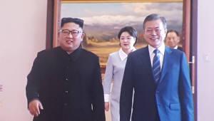 [평양정상회담]문 대통령, 오후 'UN 제재 대상' 만수대창작사 참관 예정