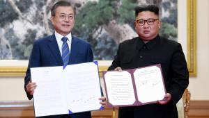 [평양정상회담]평양공동선언 나오기까지···이틀간의 회담 스케치