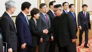 [평양정상회담]평양공동선언 서명식