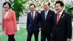 """[평양정상회담]정당 대표단, 전날 불참 이유 밝혀...""""참석자가 맞지 않았다"""""""