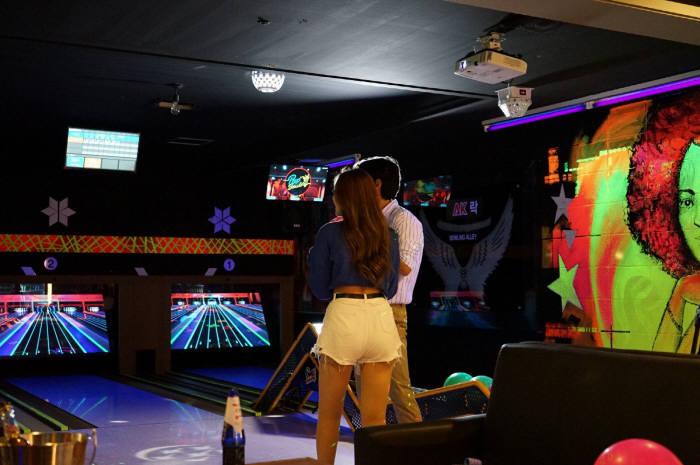 뉴딘스퀘어 스크린볼링 팝볼링 매장 내부 모습. 사진출처=뉴딘스퀘어