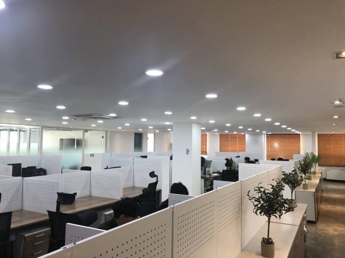 넷앤드, 본사 사무실 확장…업무 능률 극대화
