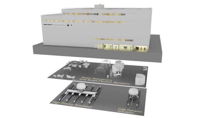 BMW그룹 드라이빙 시뮬레이션 센터.