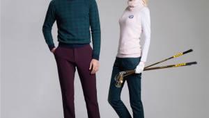 KYJ골프, 가을의 라운딩 코디… 스웨터와 부클 베스트