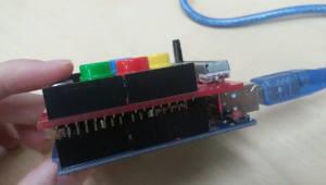 [아두이노야 놀자]<20>E-센서보드로 DC모터 제어하기