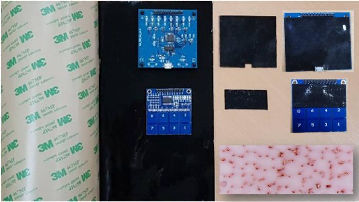 노이드코퍼레이션이 세계 최초로 개발한 정전기 유입(ESD) 원천차단 신소재 하이솔레이션 시트.