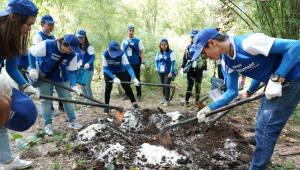 삼성전자, 태국 야생동물 보호구역에서 자연 생태계 재건 위한 봉사활동