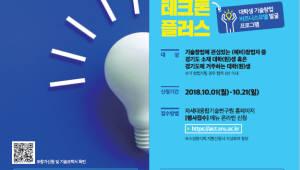 융기원, 4차 산업혁명 융·복합기술 발굴 '테크톤 플러스' 개최
