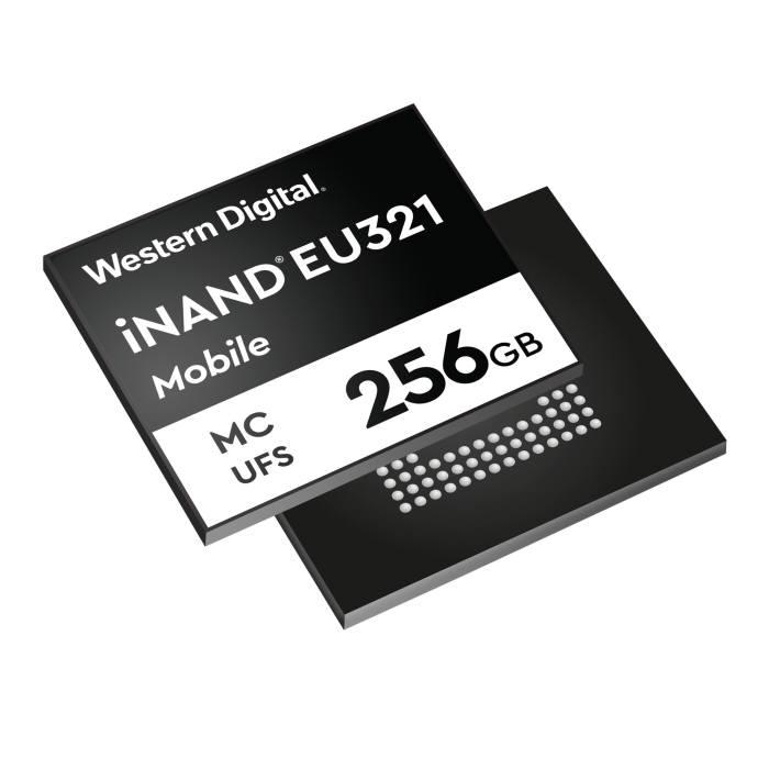 웨스턴디지털 iNAND MC EU321 이미지<사진 웨스턴디지털>