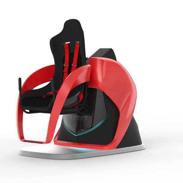 미래야 놀자의 VR 어트랙션 엑스토네이도.