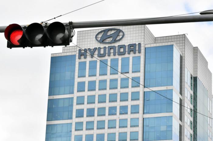 서울 양재동 현대자동차 사옥 전경. 박지호 기자 jihopress@etnews.com