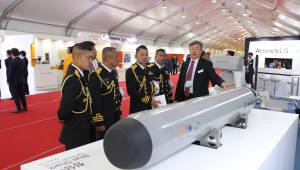 LIG넥스원, 국제관함식서 정밀유도무기·감시정찰장비 선봬