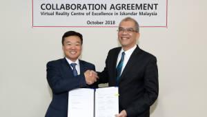 KT VR테마파크 글로벌 첫 선···말레이시아 진출
