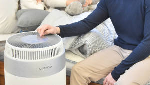 쿠쿠홈시스, 인스퓨어 브랜드 론칭 공기청정기 W8200 신제품 발표