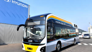 현대차 수소전기버스, 울산 시내버스 노선에 첫 투입