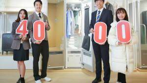 코웨이 의류청정기 렌털판매 호조…누적 판매량 1만대 돌파