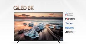 삼성전자 'QLED 8K' TV, 세계 주요 매체로부터 호평