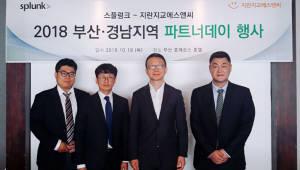 지란지교에스앤씨, 스플렁크와 부산·경남 지역 파트너데이 개최