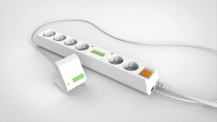 가나테크엠, 에너지 절감형 멀티콘센트 '그리니' 출시…고 성능 동작감지 RF센서