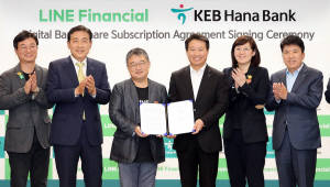 네이버 라인, 인니 KEB하나은행 2대 주주…디지털뱅크 맞손