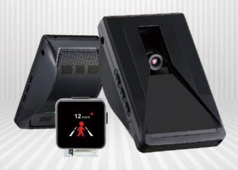 PLK테크놀로지의 첨단차로이탈경고장치 제품 로드스코프8 (제공=PLK테크놀로지)