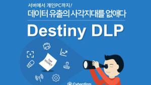 사이버다임, 데이터 유출 차단 '데스티니 DLP' 출시