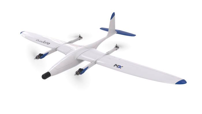직충돌형 소형 드론 비행체. LIG넥스원 제공