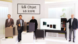 가구와 가전 결합한 융·복합 가전 출시…'나심비' 채워 주는 'LG 오브제'