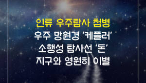 인류 우주탐사 첨병 '케플러·돈' 지구와 영원히 이별